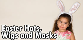 Easter Hats, Wigs and Masks
