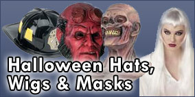 Halloween Hats, Wigs and Masks