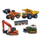 Construction Vehicle Cutouts 16'' (4 count)