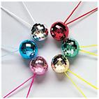 Disco Ball Necklace Asst. (1 count)