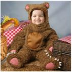 Bear Deluxe Toddler Costume